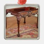 Card table, c.1740 ornament