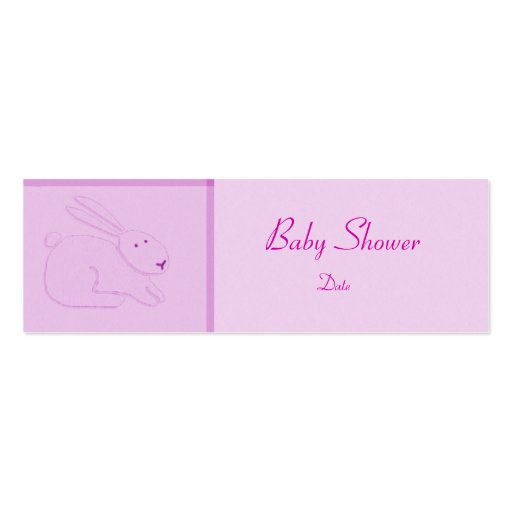 Card Template - Baby Announcement/Shower Business Cards