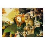 Card: The Peaceable Kingdom Greeting Card