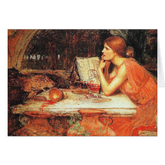 Card:  The Sorceress - John Waterhouse