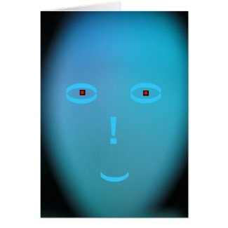 Card - The Turquois Person - Multipurpose Card
