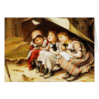 Card: Three Little Kittens