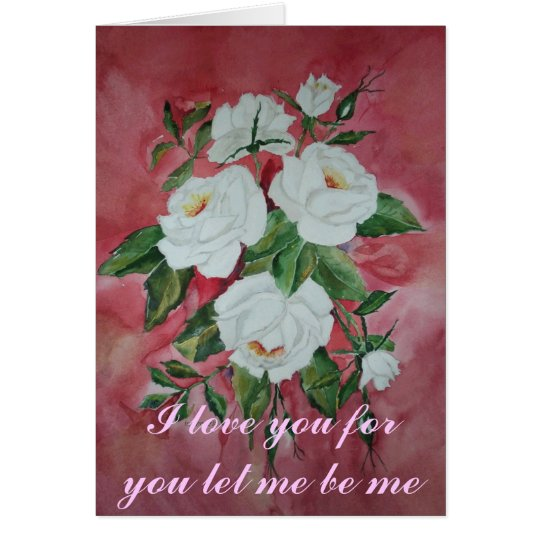 Card to say I love you