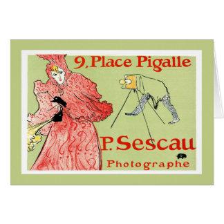 Card: Toulouse-Lautrec - P.Sescau Photographe