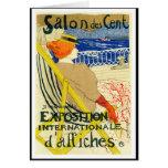 Card: Toulouse Lautrec  - Salon des Cent