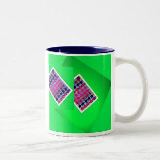 Card Trick Two-Tone Coffee Mug
