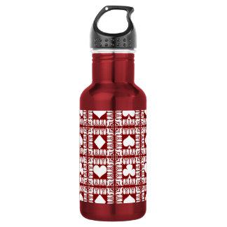 Card Tricks 3 Stainless Steel Water Bottle