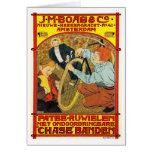 Card: Vintage Bicycle Advertising Art