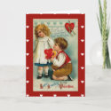 Card-Vintage Valentine's Day Card for Sweetheart card