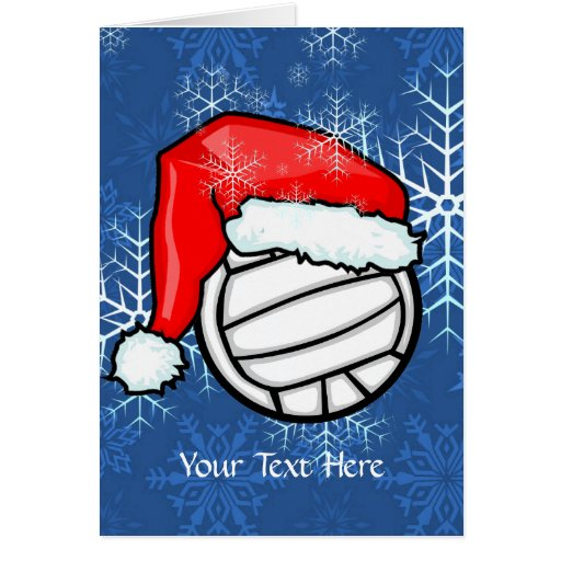 Card - Volleyball Christmas