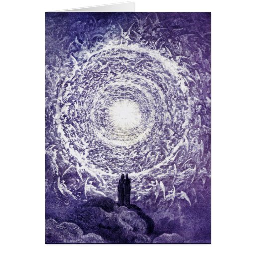 Card: White Rose - Gustave Doré