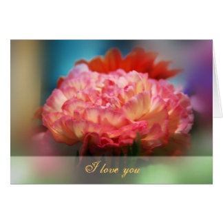 Card with love message