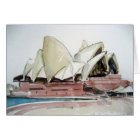 Card with Sydney Opera House Watercolour