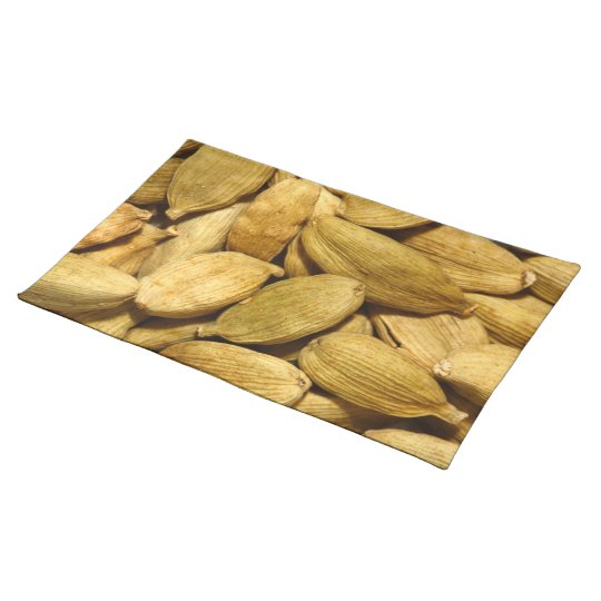 Cardamom pods cloth placemat