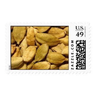 Cardamom pods stamps