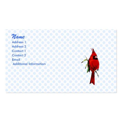 Cardan Cardinal Business Card Templates