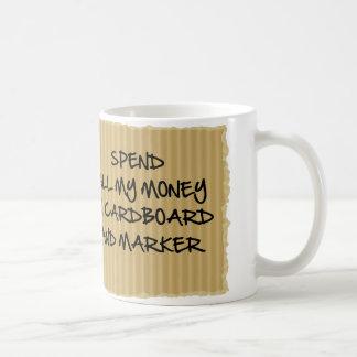 Cardboard And Marker Coffee Mug