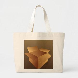 Cardboard Box Tote Bags