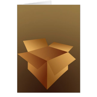 Cardboard Box Card