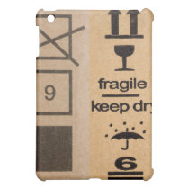 cardboard box fragile sign casing iPad mini case