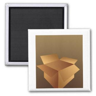 Cardboard Box Magnet