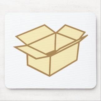 Cardboard box mouse pad