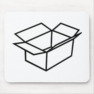 Cardboard box mousepads