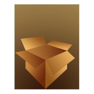 Cardboard Box Postcard