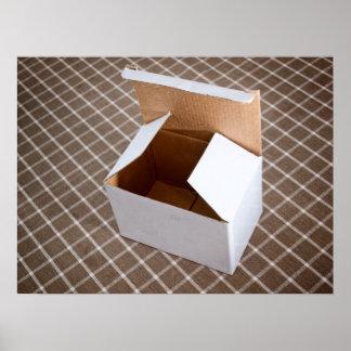Cardboard box poster