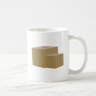 Cardboard Boxes Classic White Coffee Mug