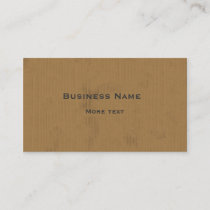 Cardboard Design Business Card