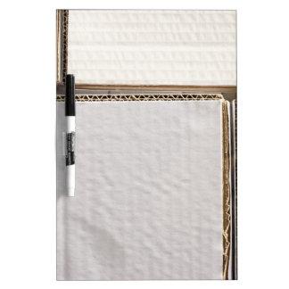 Cardboard Dry Erase Board