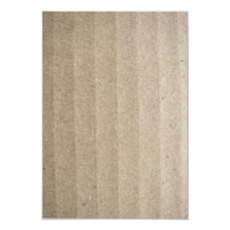 Cardboard 3.5x5 Paper Invitation Card
