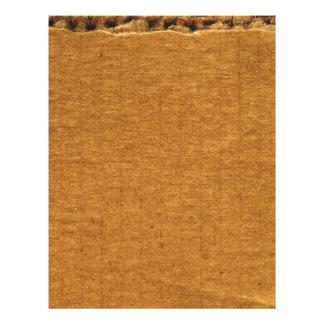 Cardboard Piece Stationery Letterhead