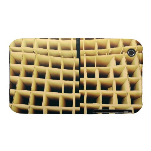 Cardboard squares Case-Mate iPhone 3 case