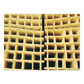 Cardboard squares 6.5x8.75 paper invitation card
