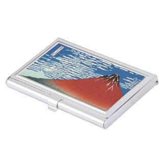 "Cardcase ""of 凱 wind fine weather"" of Katsushika no Business Card Holder"