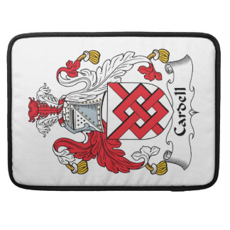 Cardell Family Crest MacBook Pro Sleeves