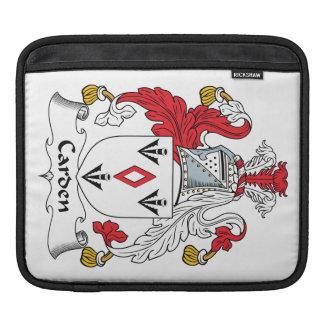 Carden Family Crest iPad Sleeves