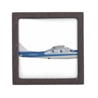 Cardenal 395395 de Cessna 177RG Caja De Recuerdo De Calidad