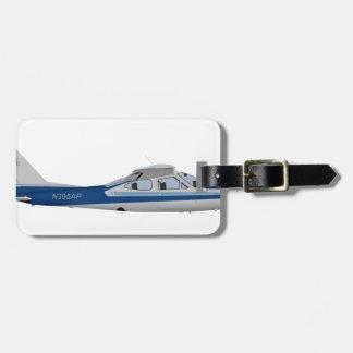 Cardenal 395395 de Cessna 177RG Etiquetas De Equipaje