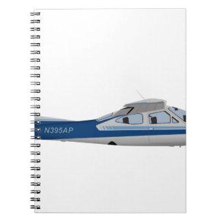 Cardenal 395395 de Cessna 177RG Libros De Apuntes Con Espiral