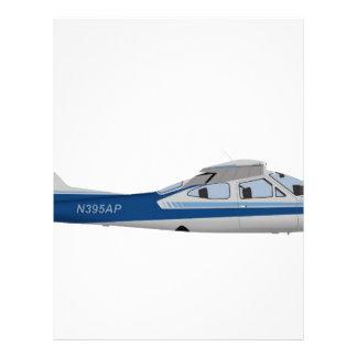 Cardenal 395395 de Cessna 177RG Membrete Personalizado
