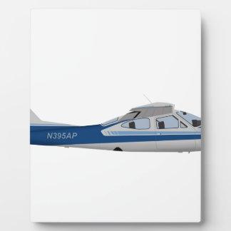 Cardenal 395395 de Cessna 177RG Placa De Madera