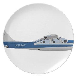 Cardenal 395395 de Cessna 177RG Plato De Cena