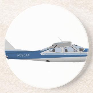 Cardenal 395395 de Cessna 177RG Posavasos Manualidades