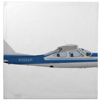 Cardenal 395395 de Cessna 177RG Servilletas Imprimidas