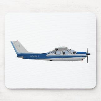 Cardenal 395395 de Cessna 177RG Alfombrillas De Ratones