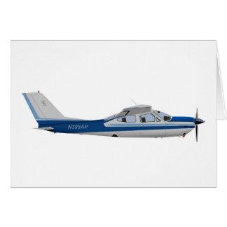 Cardenal 395395 de Cessna 177RG Tarjeton
