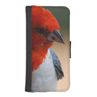 Cardenal con cresta cartera para iPhone 5